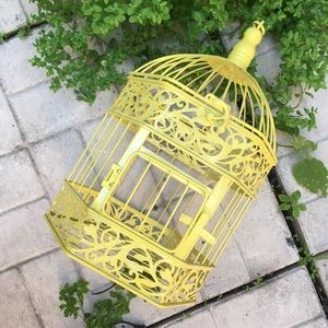 Other - Colourful and Cute Yellow Bird Cage